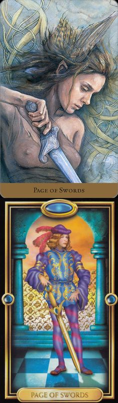 Page of Swords: curiosity and overenthusiasm leading to rushed/poor planning (reverse). Hidden Realm Tarot deck and Gilded Tarot deck: the card reading, lotus card reading vs free instant tarot card reading. The best oracles cards and fortune telling.
