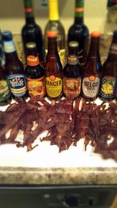 """Best Beef Jerky Ever! """"This Beef Jerky is a party favorite especially w the Super Bowl coming up!""""  @allthecooks #recipe"""