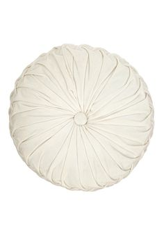 Very pretty Round Velvet Pintuck Pillow in white by would go great on the plum tufted sleeper sofa adding a pop of color, and would also bring out the white in the Tree of Life Tapestry that would hang behind the sofa. White Pillows, Velvet Pillows, Throw Pillows, Art Nouveau, West Elm Bedding, Pillow Room, Cushion Pillow, Round Pillow, Linens And Lace