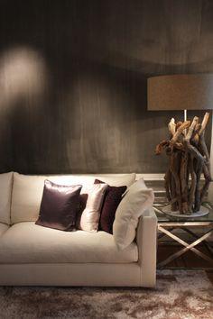 Flexform Sofa in beautiful greys