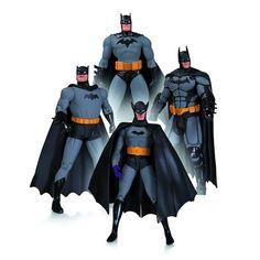 Batman 75th Anniversary Set 1 Action Figure 4-Pack