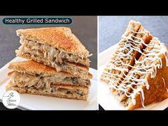 Sandwich Chutney Recipe, Grilled Sandwich Recipe, Vegetarian Sandwich Recipes, Cheese Sandwich Recipes, Healthy Sandwiches, Chutney Recipes, Healthy Grilling, Green Chilli, Garlic Paste