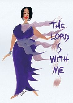 The Lord is With Me: Cidne Wallace Magnet