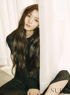Kim Yoo Jung for Sure Korea February 2016. Photographed Kim Hyungsik