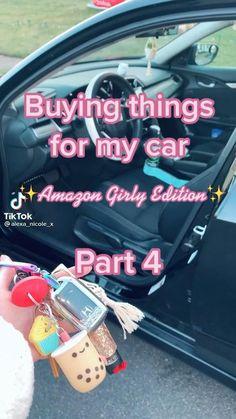 Car Life Hacks, Car Hacks, Interior Car Decorations, Cool Car Accessories, Girly Car, Car Essentials, Car Goals, Car Gadgets, Cute Cars