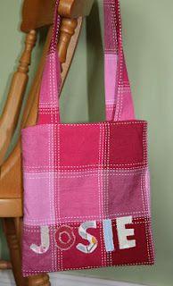 Simple childrens bag, cute