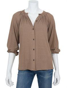 Tucker | the blouse in brothers simple stripe  Simppeli, ja silti jotenkin kiva.