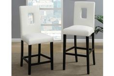 http://www.ebay.com/itm/2-PC-Modern-Soft-Ivory-Faux-Leather-Upholstered-Bar-Height-Chair-Stool-Barstools-/231202102066?pt=US_Bar_Stools&hash=item35d4b81b32