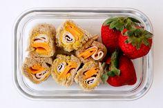 Creative Kids Lunch Idea: Turkey Sushi Sandwich