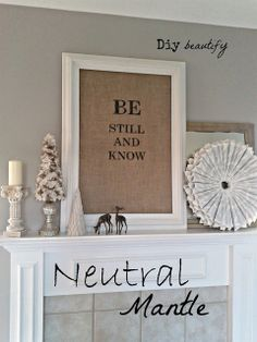 Burlap Projects | Diy beautify Burlap tree and Burlap frame with verse
