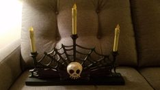 Disney Haunted Mansion Nightmare Before Christmas Candelabra Brian Sandahl BONUS