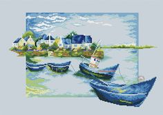 blue boats-1