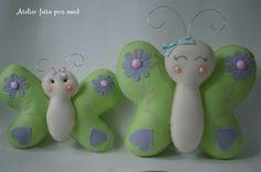 Bugs, Christmas Ornaments, Holiday Decor, Rose, Butterfly Felt, Dates, Butterflies, Throw Pillows, Craft