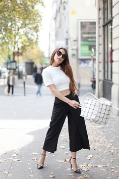 Love this culottes look