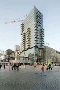 Gallery of In Progress: B' Tower / Wiel Arets Architects - 1