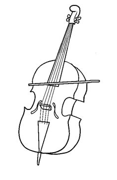 coloring page Musical Instruments on Kids-n-Fun. Coloring pages of Musical Instruments on Kids-n-Fun. More than coloring pages. At Kids-n-Fun you will always find the nicest coloring pages first! Cello Musical Instrument, Musical Instruments Drawing, Outline Pictures, Scrap Quilt Patterns, Music Illustration, Cool Coloring Pages, Music Pictures, Lessons For Kids, Music Education