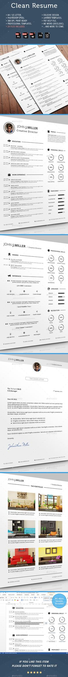 50 Best Resume Templates For 2018 - 50 #bestof2017 #resumetemplate - awesome resumes templates