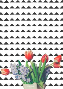 FLOWERS ART - 3 FREE PRINTABLES JUST FOR YOU - packmahome