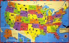 10 Best Us Maps Images Map Of Usa Wall Maps United States Map