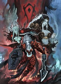 for the Horde by ~liuhao726 on deviantART