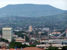 Bandung, Indonesia, with a view of Tangkuban Perahu. We lived here 5 years.