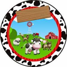 Making Propria Party: MINI KIT CUSTOM THEME little farm