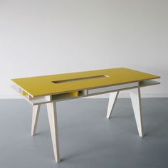 Love this desk from Arré.  Wish I could afford it...