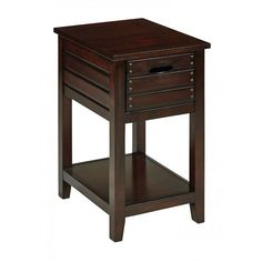 Camille Walnut Side Table *D by OSP - Office Star Products is now available at American Furniture Warehouse. Shop our great selection and save!