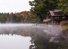 Rise & Shine at the rustic cabin at the lake