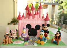 Disney Palace Cake -Mickey & Co by Party Cakes By Samantha, via Flickr