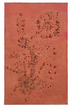 Holey Lucio Fontana canvas