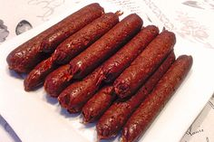 Seitan - Wurst, vegane Bratwurst