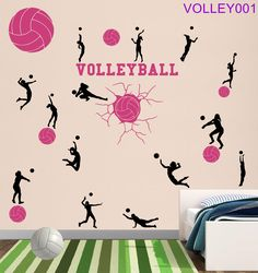 Volleyball Theme Wall Collection