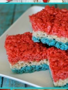 Friday Favorites {Fourth of July} | Rice, Rice krispie treats and ...