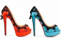 Christian Louboutin Duofoura Heel Fierce Louboutin Heels For The Anti-Louboutin Girl