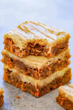 Orange cake and candied fruit - HQ Recipes Carrot Cake Loaf, Carrot Spice Cake, Easy Carrot Cake, Moist Carrot Cakes, Carrot Cake Cookies, Vegan Carrot Cakes, Carrot Cake Recipes, Carrot Bars, Carrot Cake Topping