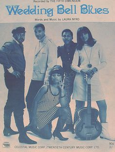 """The Fifth Dimension """"Wedding Bell Blues"""" (1969) — Sheet Music"""
