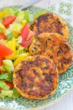 Leave the cute little crabs where they belong & make these Thai Style Vegan Crab Cakes instead. Tender, moist, packed with flavour & subtly 'fishy', they are so like the real deal! And they are really easy to make! #crabcakes #vegancrabcakes #vegan #vegetarian #heartsofpalm #artichoke