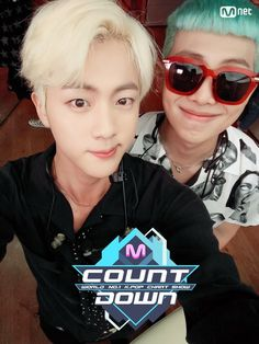 Jin and Rap Monster ❤ MCOUNTDOWN Namjin Selfie, Ep.473 Line up|World No.1 KPOP Chart Show. #BTS #방탄소년단