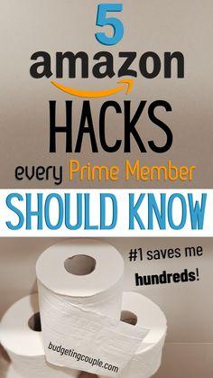 Frugal Living Tips, Frugal Tips, Money Saving Challenge, Money Saving Tips, Shopping Tips, Online Shopping, Debt Snowball Worksheet, Amazon Hacks