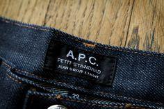 Jeans APC Petit Standard #style #menstyle #jeans #APC #denim