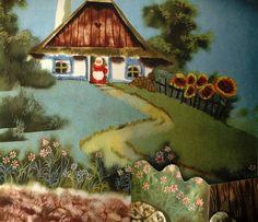 Internetový antikvariát U 108 Buddhů -- -- Trnka J. / Janeček O. -- Červená Karkulka Andersen's Fairy Tales, Architecture Background, Winter Fairy, Cottage Cheese, Animation Film, Book Illustration, Archie, Czech Republic, Childrens Books