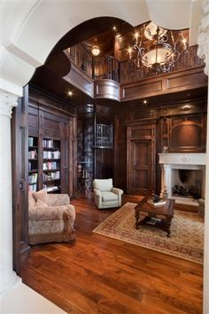 Luxury house Interiors in European styles. Interior period design, architect des...