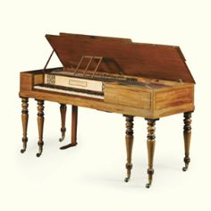 A Regency mahogany square piano by John Broadwood & Sons circa 1815 - Sotheby's
