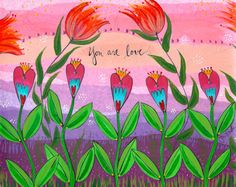 Dear beautiful you over there, I want you to remember that you are love. Even on the days when you feel lonely. Even on the days when your toddler, your teenager, screams at you. Even on the days when you say things you wish you hadn't. You are love. :: print by lori portka on Etsy