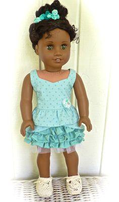 American Girl doll clothes for 18 inch by RhinestonestoRubies, $30.00