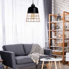 Ceiling lamp Toyama with decorative copper grille. Perfect lamp to illuminate a part of the space like living rooms, dining rooms and kitchens. Ceiling Lamp, Ceiling Lights, Toyama, Copper Material, Metal Structure, Copper Color, Cool Lighting, Dining Room, Relax