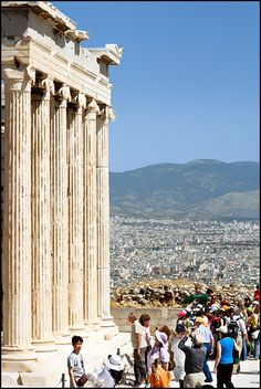 Acropolis in Athens Greece