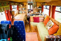 When I was in Tarifa, Spain (see Tarifa the place for van life) my neighbours were a family of 3 living in a big blue bus. Meet Danny and Cristyn and their kid Felix. They spent 5 months last summer in the UKconverting this old bus into their travelling home and now they live here. …