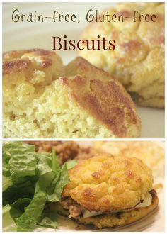 This simple biscuit recipes uses coconut flour for a delightful grain-free, versatile biscuit. | paleo | gluten free